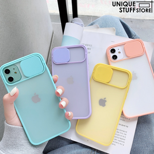 iPhone Slide Camera Lens Protection Case