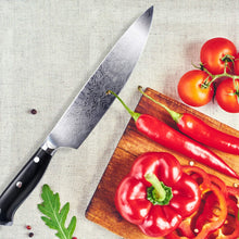 Load image into Gallery viewer, Professional Hand-finish Steel Chef Knife