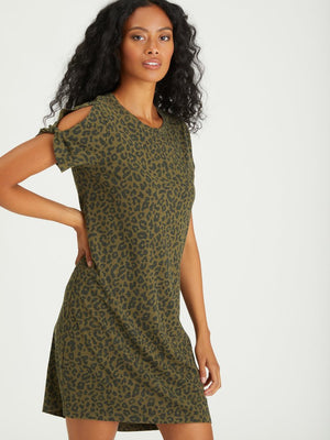 Load image into Gallery viewer, SO TWISTED T-SHIRT DRESS - NEW!