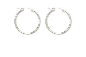 Load image into Gallery viewer, FAUNA HOOPS (GOLD & SILVER)