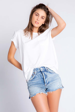 BACK TO BASICS SOLID S/S T-SHIRT - NEW!