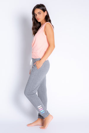 COLOURFUL CLASSICS STRIPE BANDED PANT - NEW!