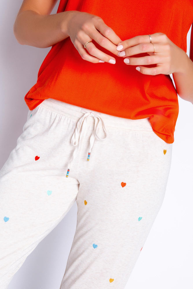 RETRO LOUNGE MINI HEARTS BANDED PANT - NEW!