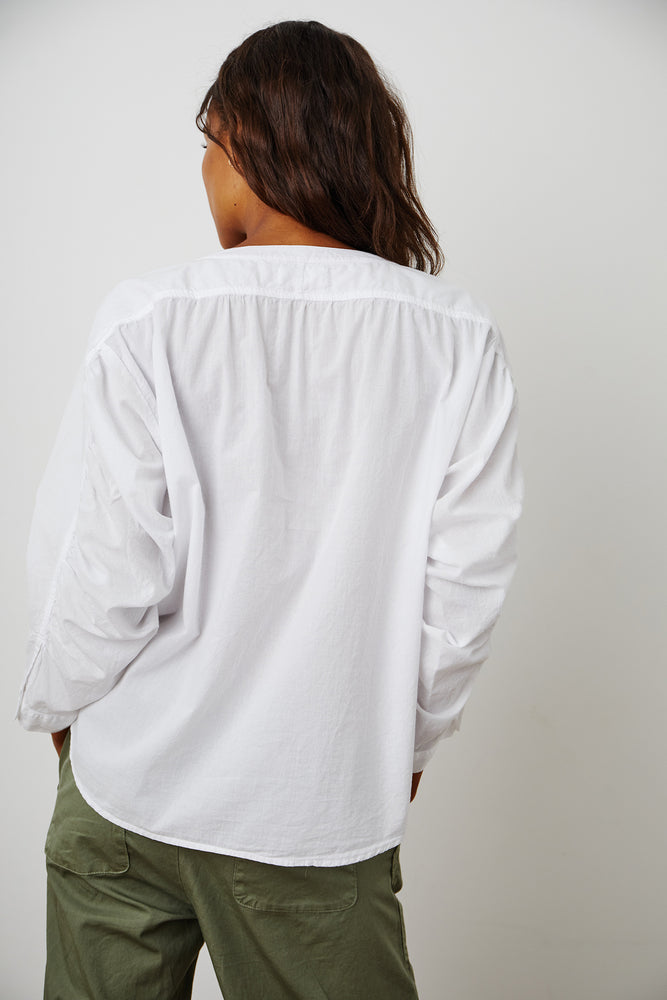 Load image into Gallery viewer, ALINA COTTON SHIRTING TOP - NEW!