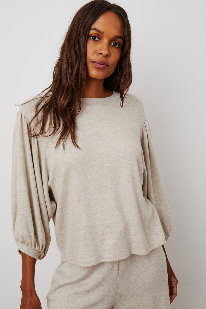 CARLANA COZY LUX MID SLEEVE TOP - NEW!