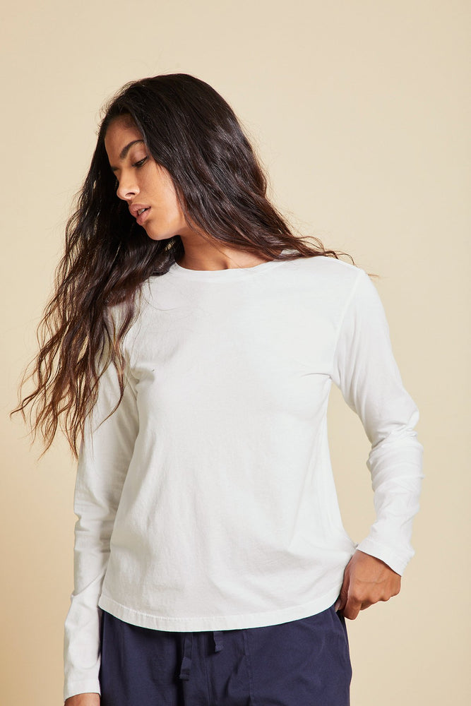 Load image into Gallery viewer, VICENTE ORGANIC JERSEY LONG SLEEVE CREW - NEW!