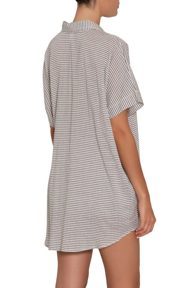 NAUTICO SLOUCHY STRIPED SHORT SET