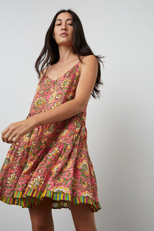 TRACY PRINTED CAMI DRESS - NEW!