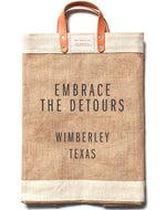 "Load image into Gallery viewer, the New ""Embrace the Detours"" Market Bag"