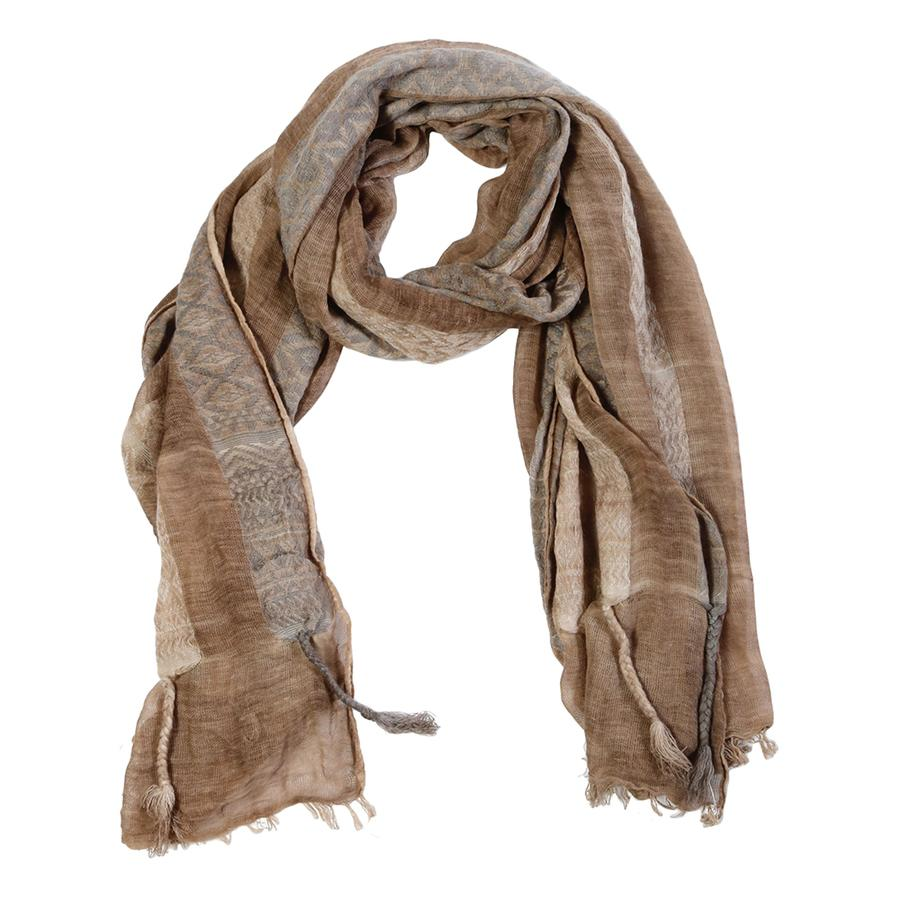 wes scarf taupe