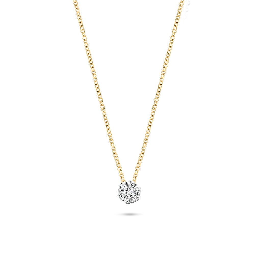 Diamonds by Blush collier met hanger
