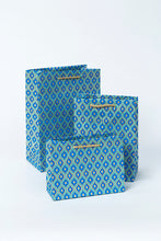Load image into Gallery viewer, Gift Bags - Turquoise Motif