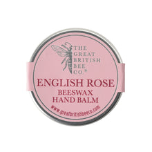 Load image into Gallery viewer, Beeswax Hand Balm - English Rose 50g