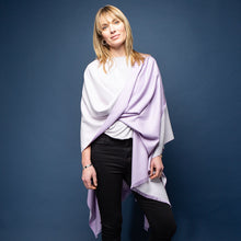 Load image into Gallery viewer, Tess Wrap - Lilac/Cream