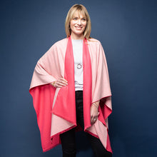 Load image into Gallery viewer, Tess Wrap - Rose/cream