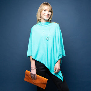 Tilley Poncho - Turquoise