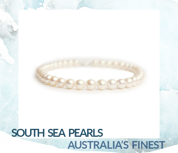 The pure world of the Australia's South Sea Pearl. Bashert Jewelry