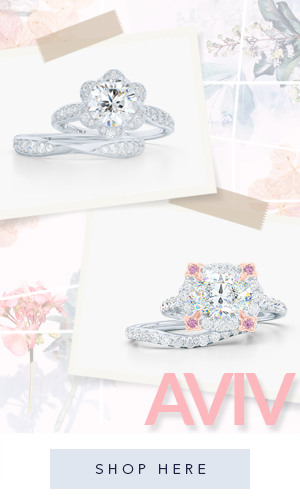 Bashert Jewelry. Aviv collection of custom engagement rings and wedding bands online. We deliver excellence .