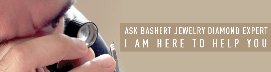 Our Diamond Expert is at your service. Bashert Jewelry. We can help you choose the best diamond for your budget!