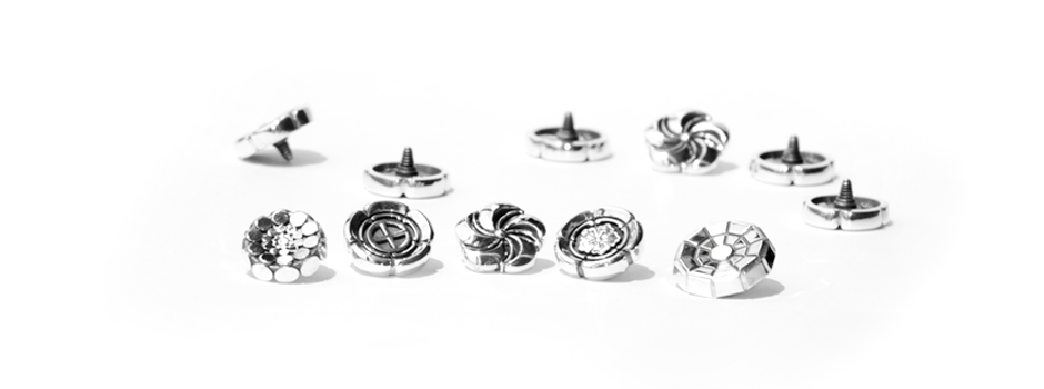 Soft Release Buttons for Leica M cameras. Bashert Jewelry Exclusive designs.