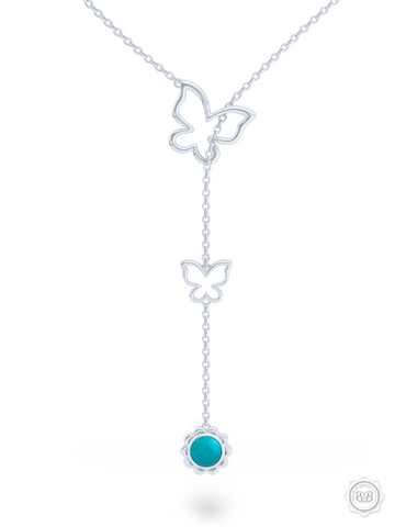 Bashert Jewelry. Custom Online Jewelry for your special occasion. Boca Raton Florida. Shop our Turquoise jewelry pieces. Turquoise Lariat Necklace.