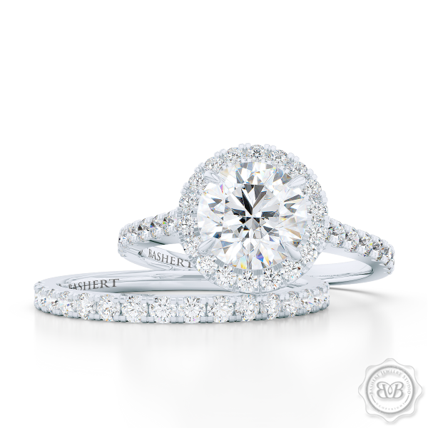 Paris collection by Bashert Jewelry Custom Engagement Rings
