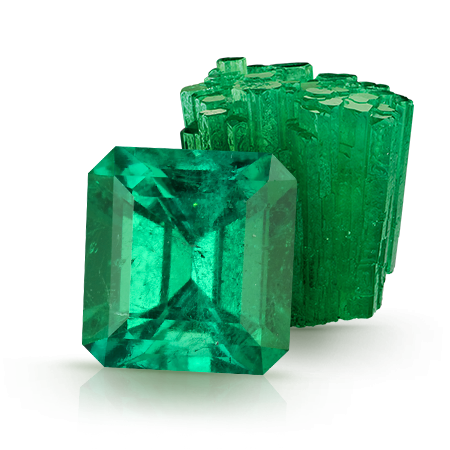 Emeralds. Gem Encyclopedia. Birthstones and Anniversary gems