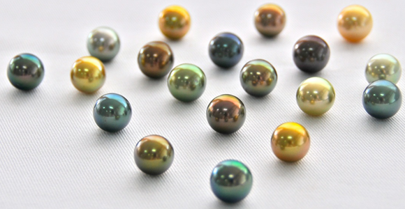 Delicious Colors and Breathtaking Overtones of the Fiji Pearls. Bashert Jewelery. Blog