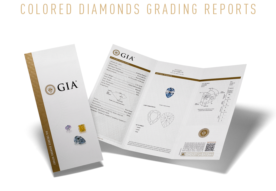 Colored Diamonds - GIA Grading and Evaluation. Bashert Jewelry