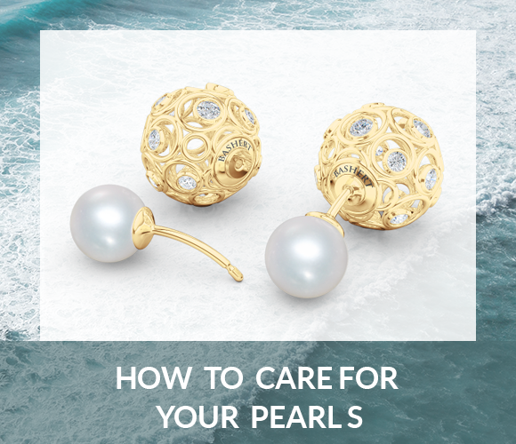 How To care for your Pearl jewelry. Bashert jewelry Boca Raton FLorida
