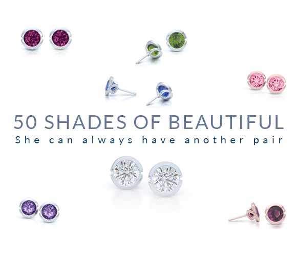 Jewelry Trends and Rumors - Jewelry Staples (part one) Earring Studs! Diamond or Moissanite. Color stones. Whats the best choice?