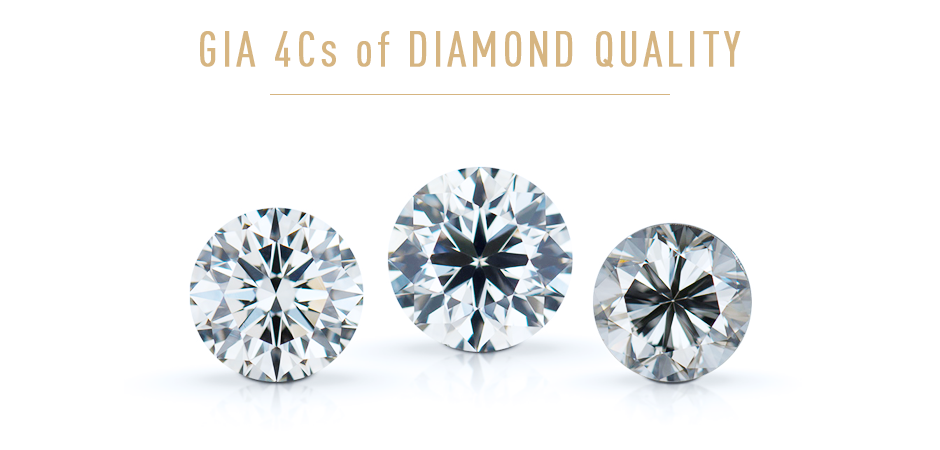GIA Diamond's  4C's  grading system. Understanding the value and quality of a diamonds. Bashert Jewelry. Boca Raton Florida