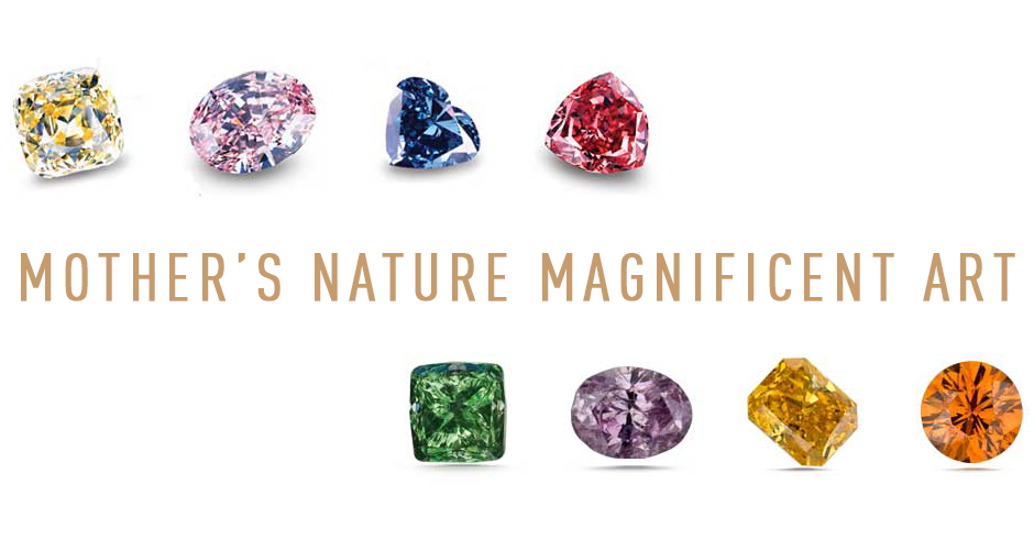 The Magnificent World of Colored Diamonds - GIA Grading and Evaluation. Bashert Jewelry