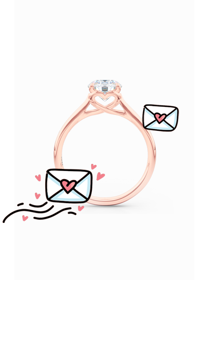 Bashert Jewelry Love Collection. Romantic designs for your special occasion. Jewelry for the modern woman, designs for any occasion. Moissanite, Diamonds, Lab-grown Diamonds. Bashert Jewlery. Boca Raton, Florida.