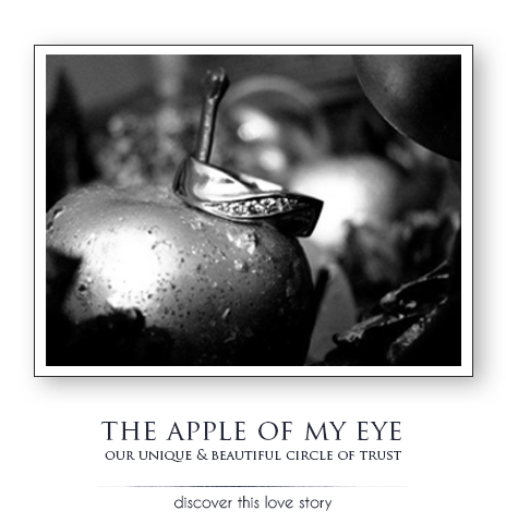 The apple of my eye. Bashert Jewelry reviews and testimonials. Lina Our circle of trust