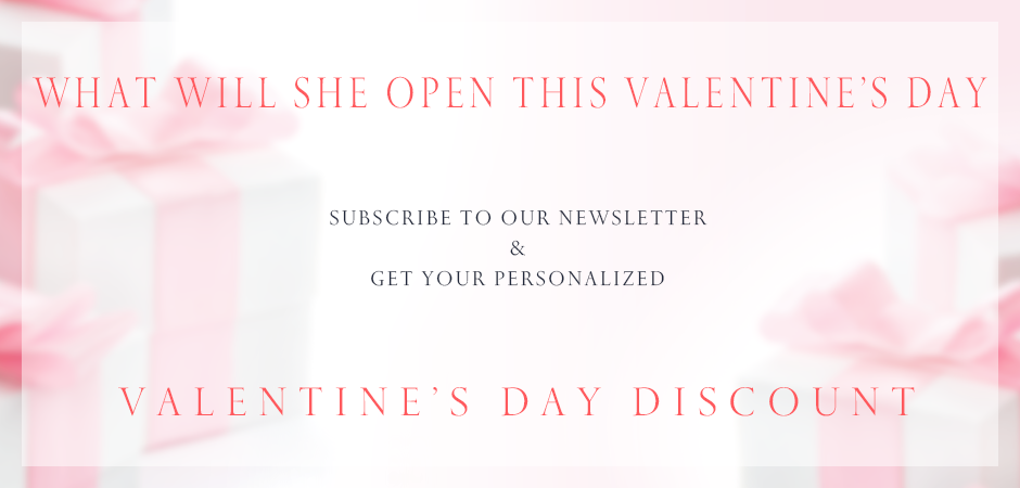 Valentine's Day Specials Bashert Jewelry. Subscribe to our newsletter and get your customized coupon.
