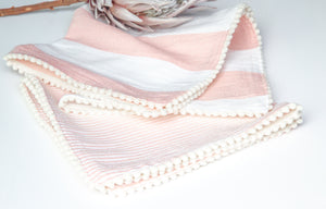 Peachy Set of 2 Napkins