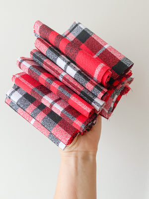 Holiday Flannel Red