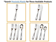 Load image into Gallery viewer, Premium Plastic Silverware Combinations. Elegant and Durable Cutlery