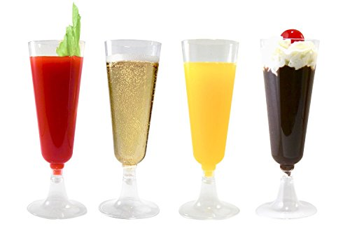 Multipurpose Durable and Elegant Champagne Flutes