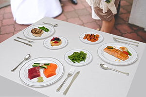 Durable and Elegant Plastic Flatware that Makes Fine Dining Simple and Easy