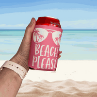 Beach Please Can Cooler