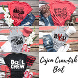 Crawfish Boil Shirt, Adult Crawfish Shirt, Cajun Girl T-shirt, Louisiana Tee, Women's Graphic Tee, Crawfish Shirt, Cajun Babe, Cajun Queen