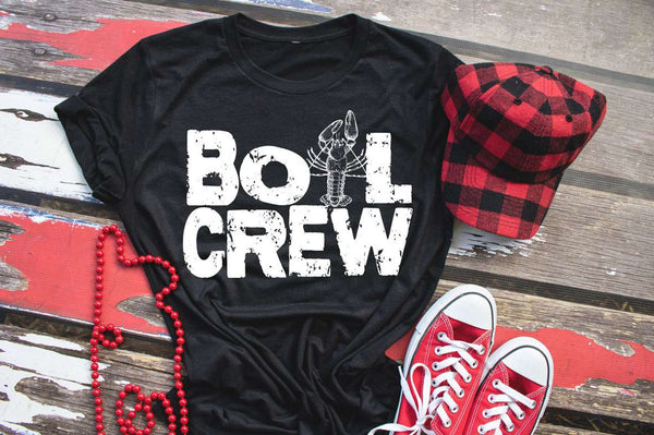 Boil Crew Shirt, Adult Crawfish Shirt, Cajun Girl T-shirt Louisiana Tee, Women's Graphic Tee, Crawfish Shirt, Cajun Babe, Crawfish Boil