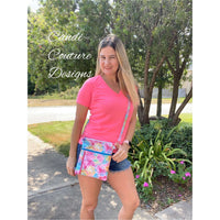 Tie Dye Crossbody Shoulder Bag for Women