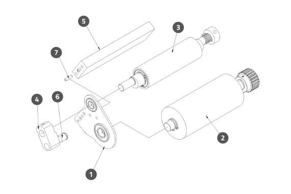 Applicator Driving Assembly