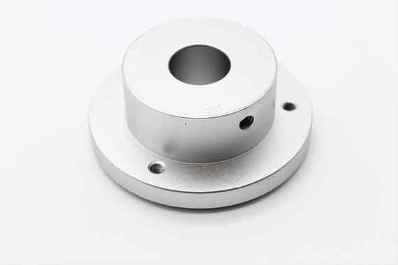 Label Feed Plate Flange (Up)