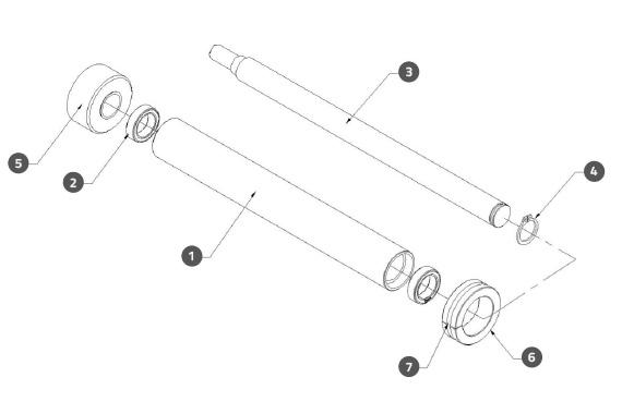 Label Roller Assembly 2
