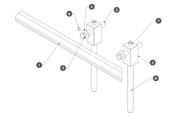 Guide Rail A01 Assembly
