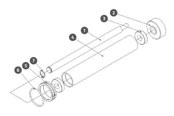 Label Roller Lead Assembly 2